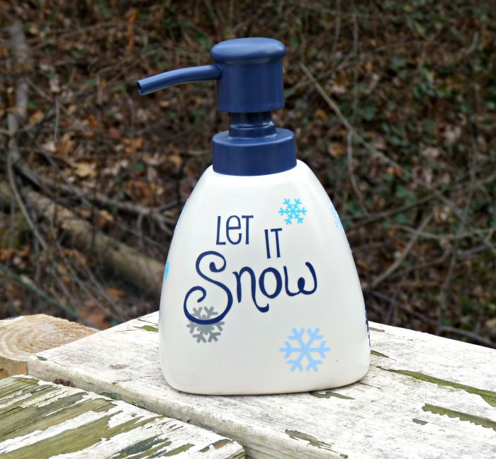 Seasonal Soap Dispenser