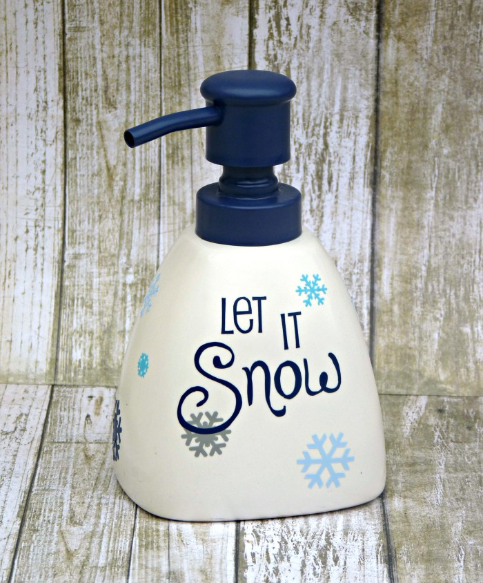 Seasonal Soap Dispenser