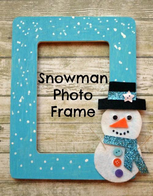 Snowman Photo Frame