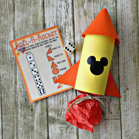 Disney Rocket Party Favors