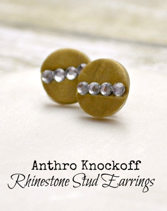 Anthro Knockoff Earrings