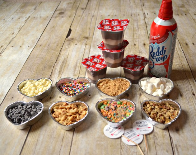 Snack Pack Pudding Toppings Bar