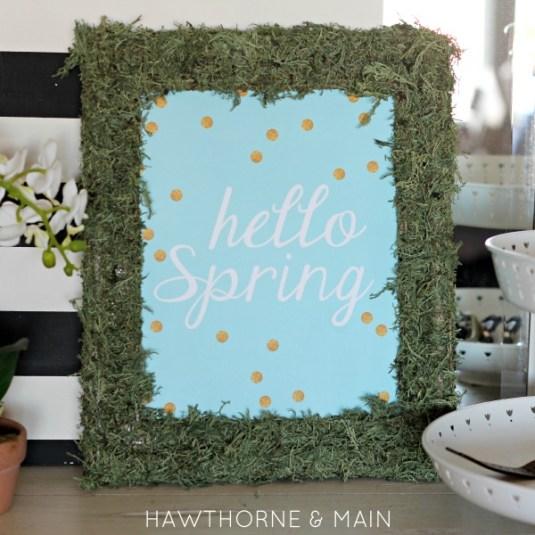 hello spring square