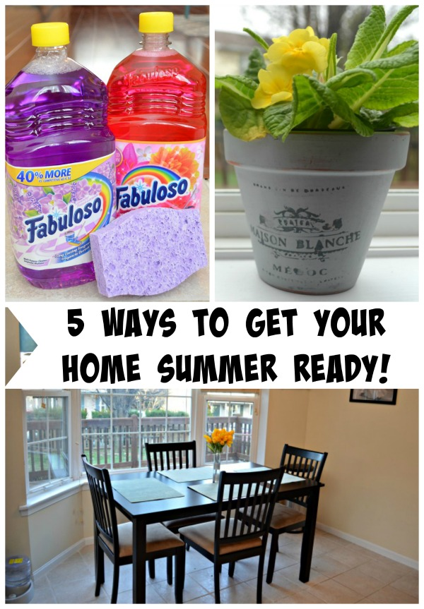 5 Ways to Get Your Home Summer Ready