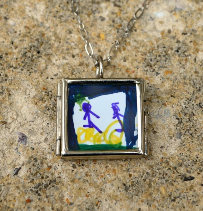 Chlid's Art Locket
