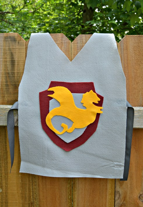 Knights and Dragons Party: Knight Tunics and Shields