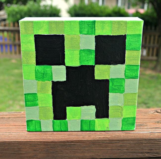 Minecraft Canvas Paintings Amy Latta Creations
