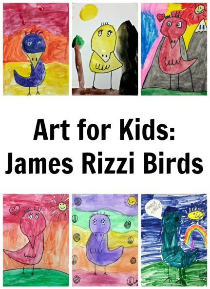 Art for Kids: James Rizzi Birds