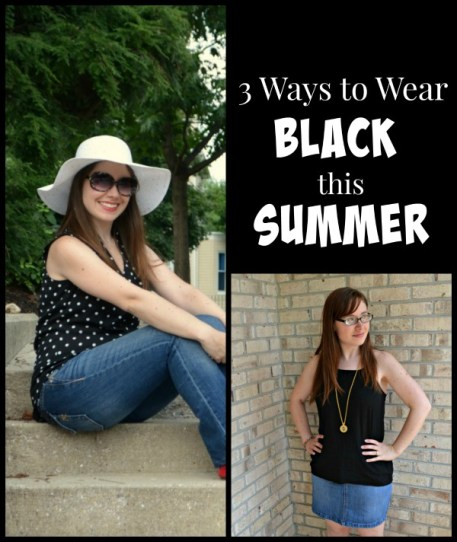 3 Ways to Wear Black in Summer