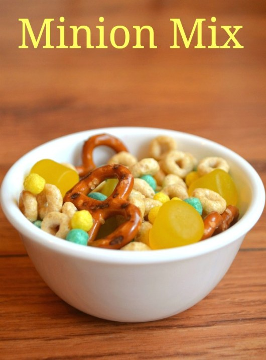 Minion Mix with Cereal