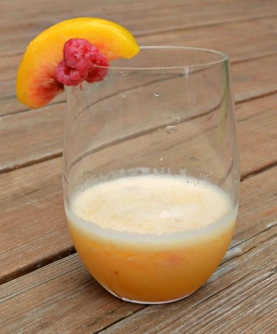 Peach Moscato Slush