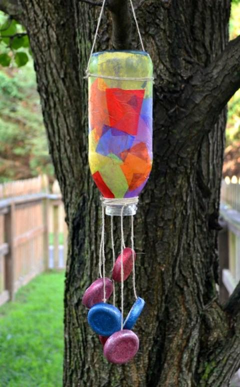 Snapple Bottle Wind Chime