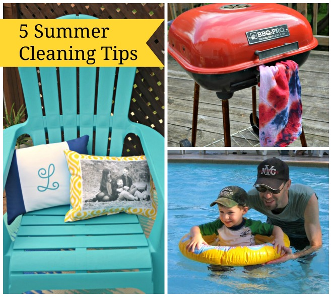 5 Summer Cleaning Tips