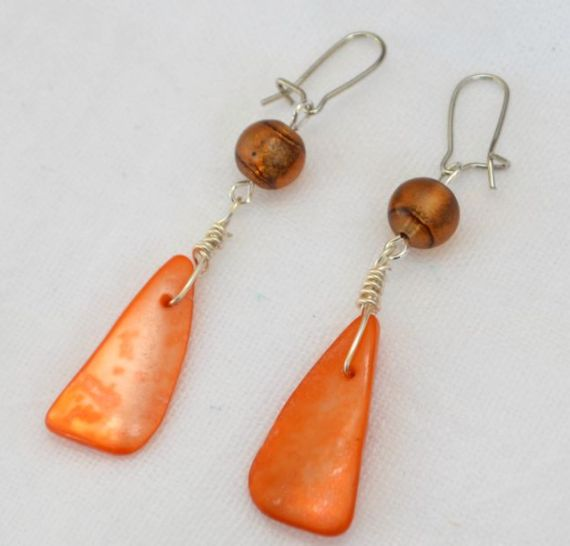 Autumn Inspired Dangle Earrings