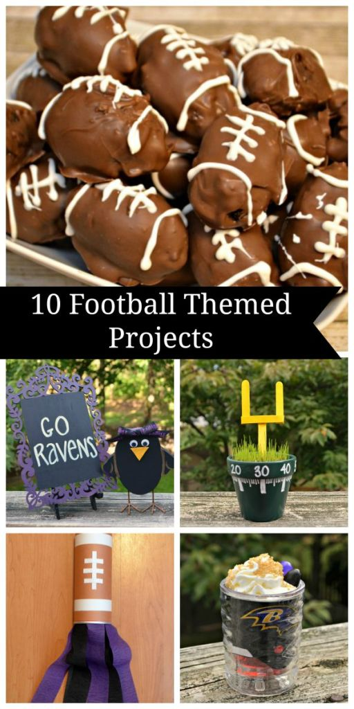 Football Themed Crafts and Snacks