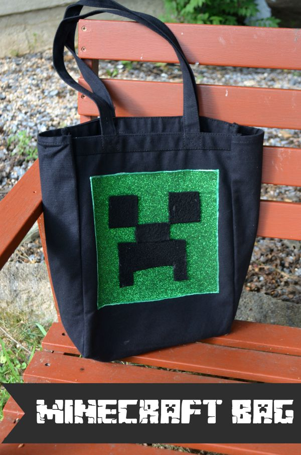DIY Minecraft Bag