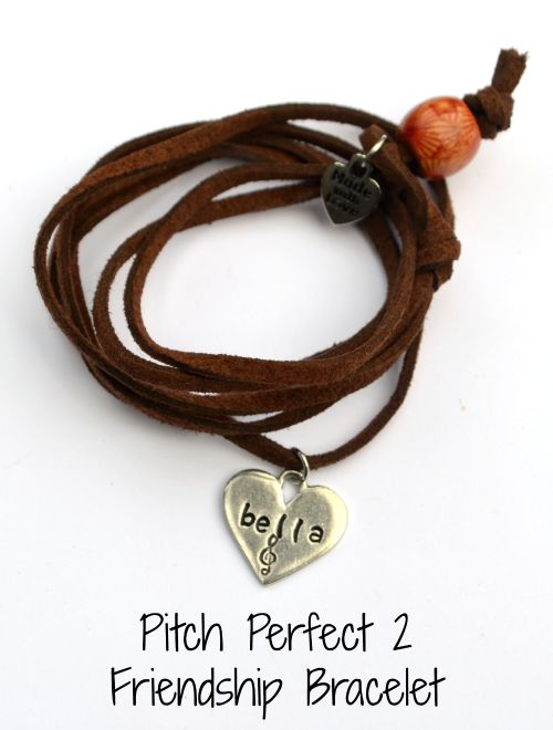 Pitch Perfect 2 Leather Wrap Bracelet