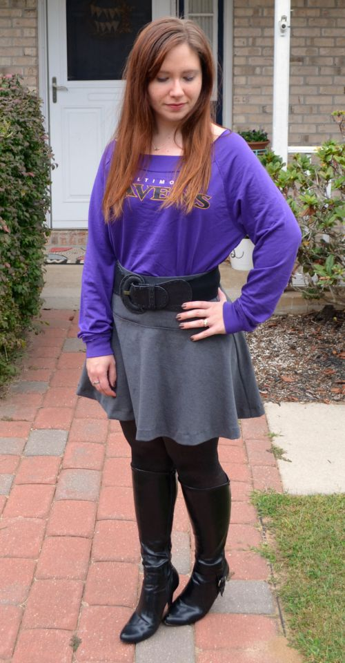 NFL Fan Style Game Day Outfit