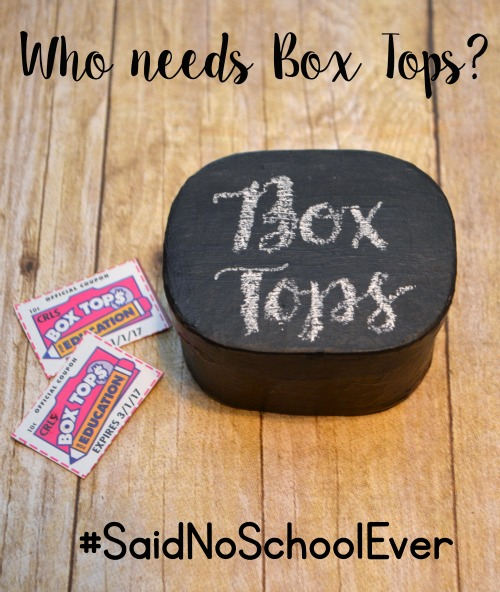 Box Tops Collection Box