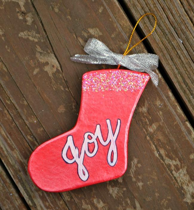 Stocking Ornament
