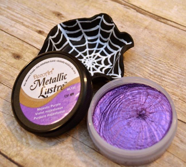 Metallic Lustre Majestic Purple