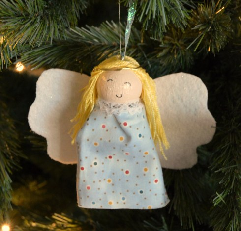 Glowing Angel Ornament