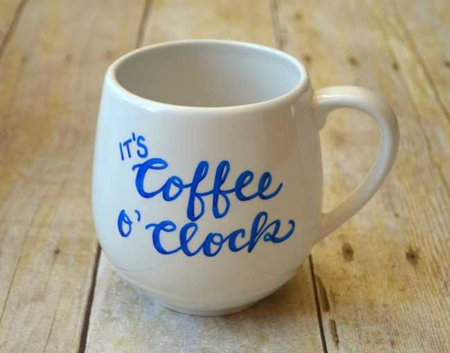 Coffee o'clock mug