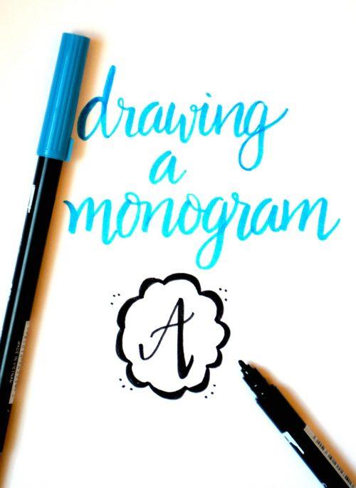 Drawing a Monogram