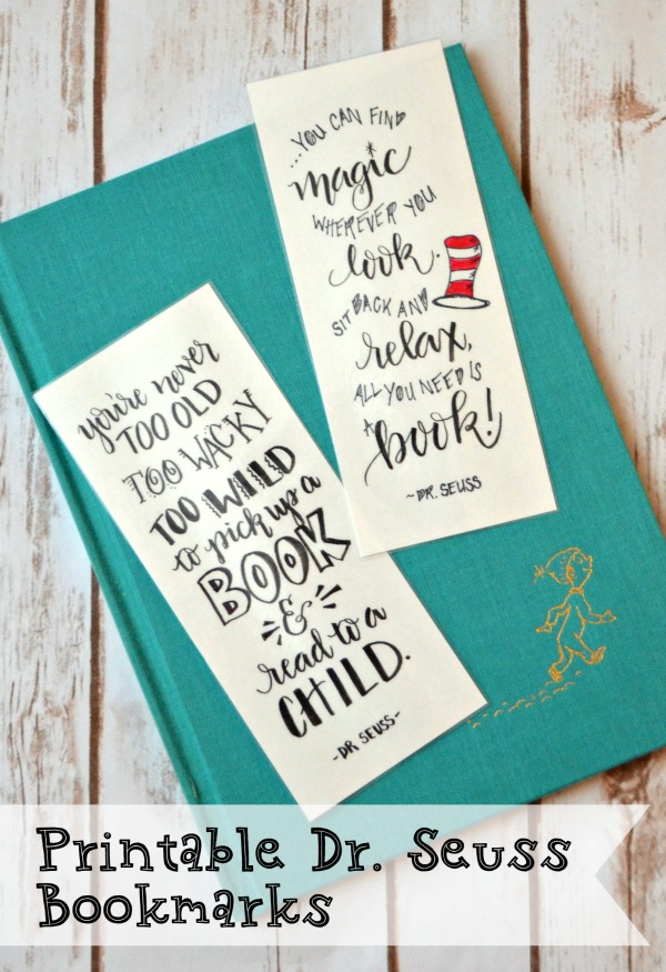 Early Childhood Education: Dr. Seuss Bookmarks