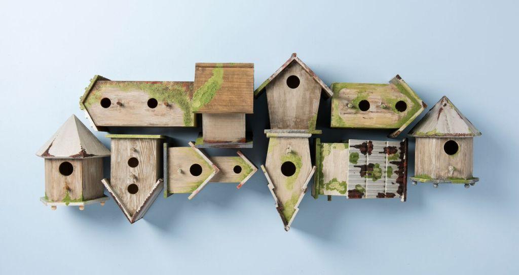 Wooden Birdhouses