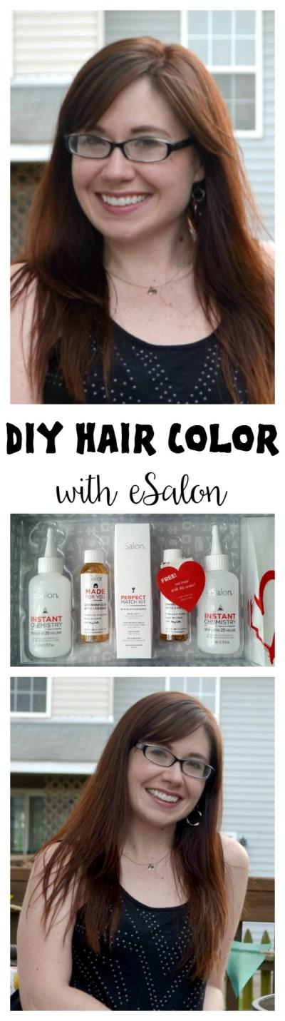 DIY Hair Color with eSalon