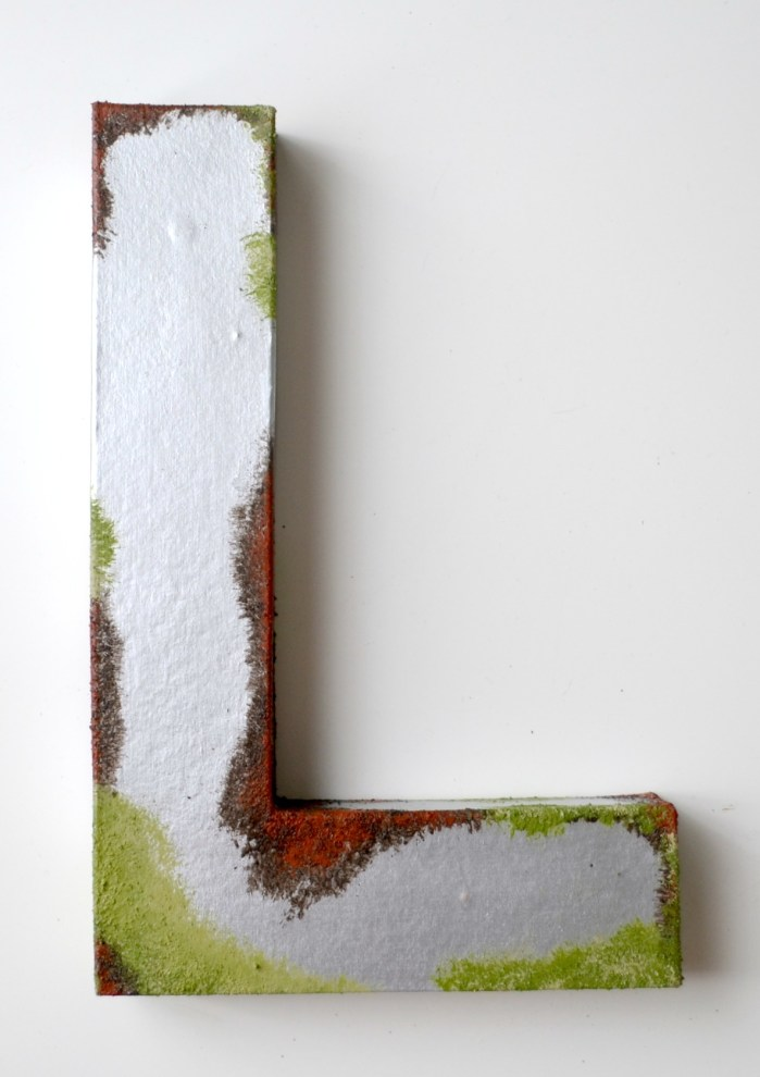 Rust and Moss Monogram