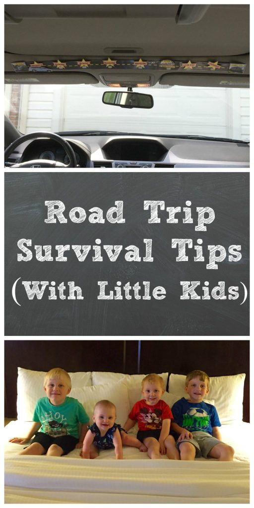 Road Trip Survival Tips with Little Kids