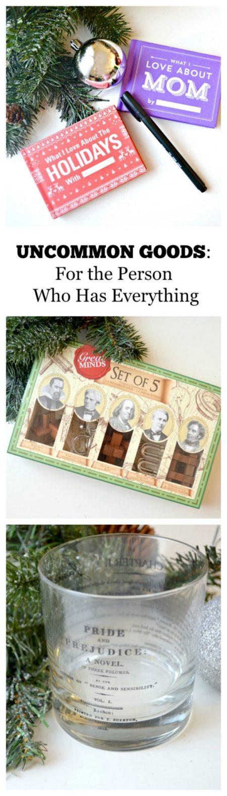 Uncommon Goods Gift Ideas