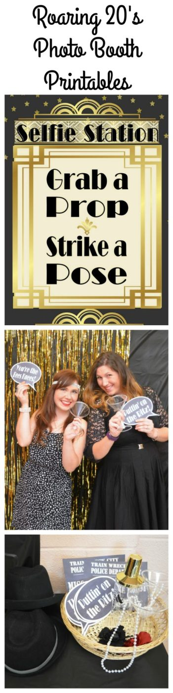 Roaring 20's Photo Booth Printables