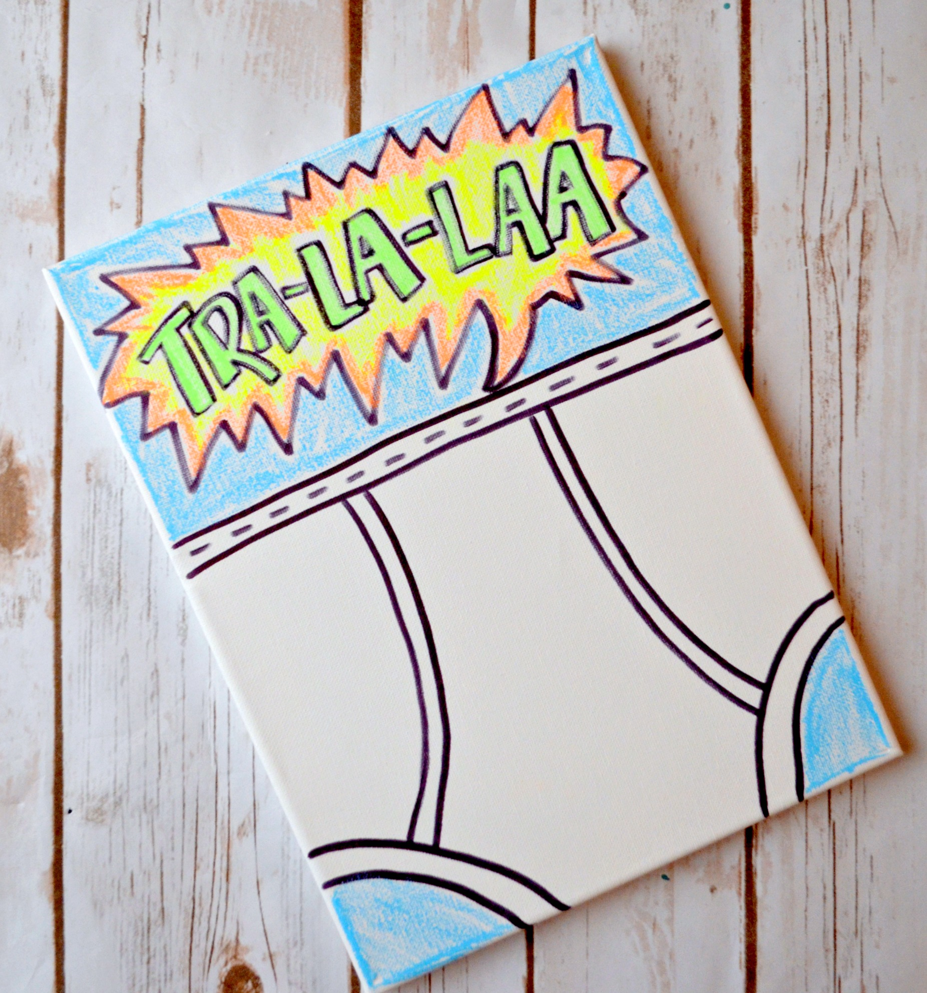 Captain Underpants Craft Project