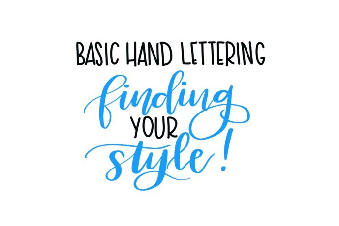 Hand Lettering: Finding Your Own Style