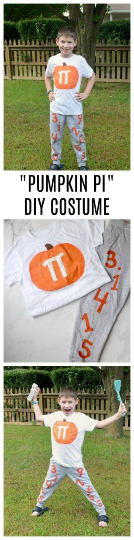Punny Pumpkin Pi DIY Halloween Costume