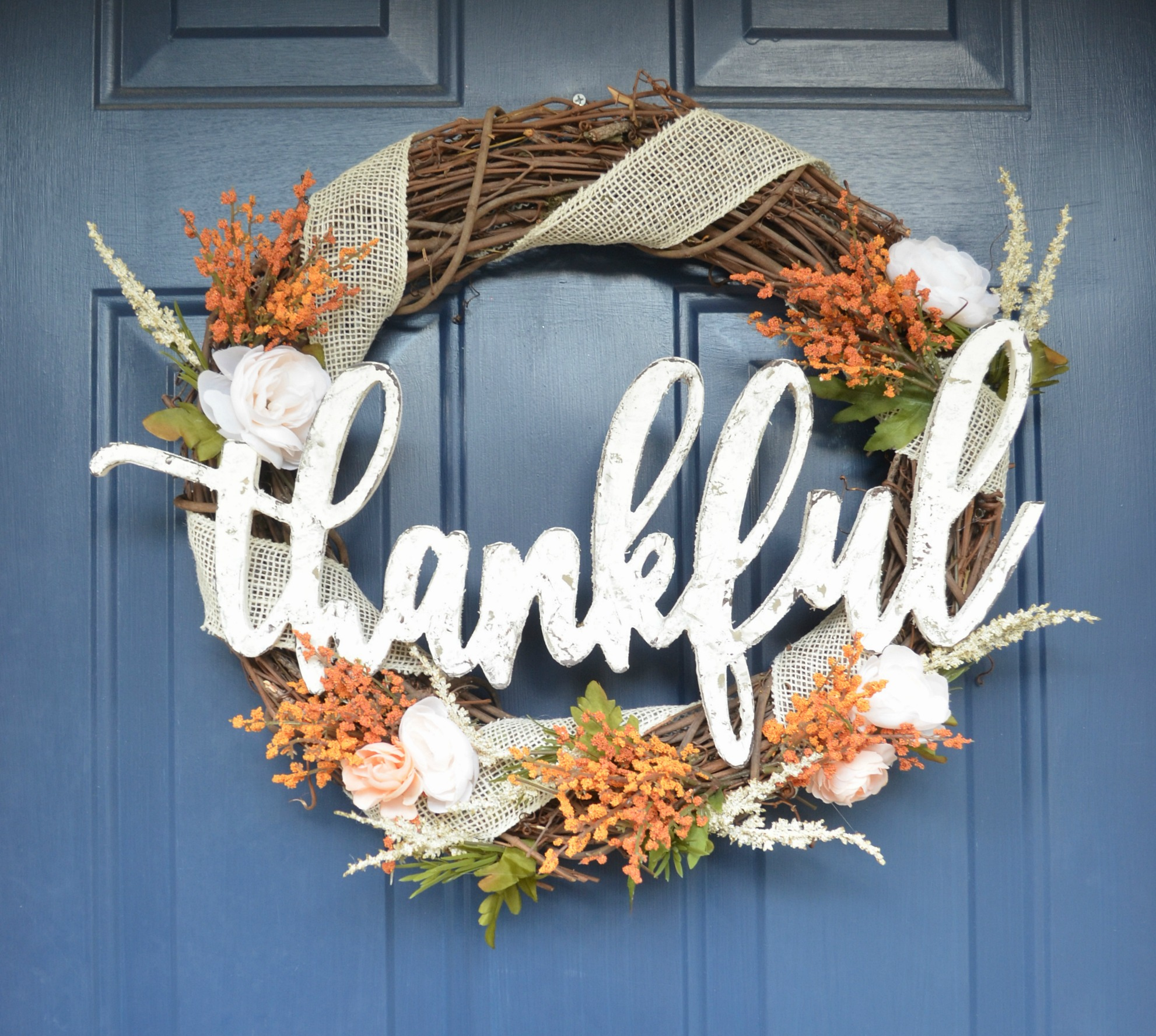 Thankful Fall Wreath