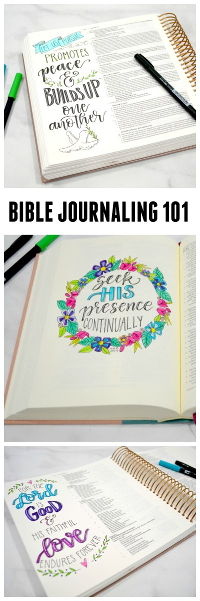 Getting Started With Bible Journaling - Amy Latta Creations