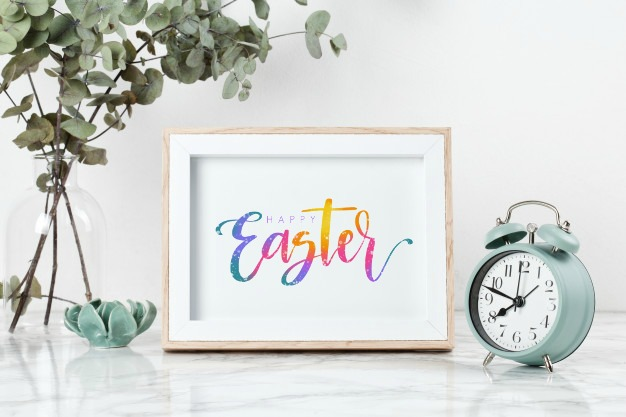 Free Hand Lettered Easter Printables