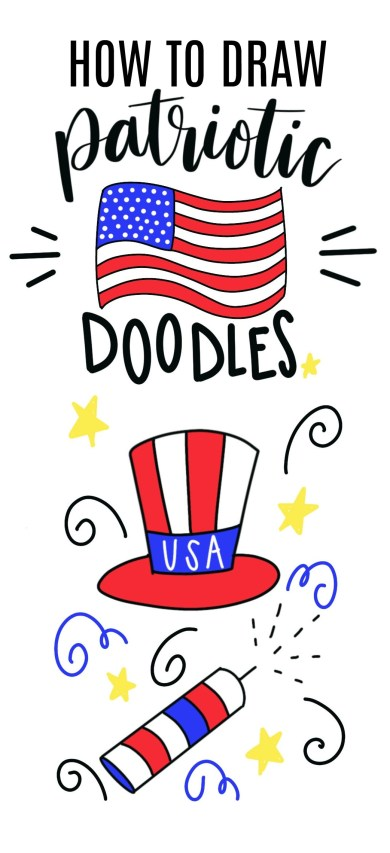 How to Draw Patriotic Doodles