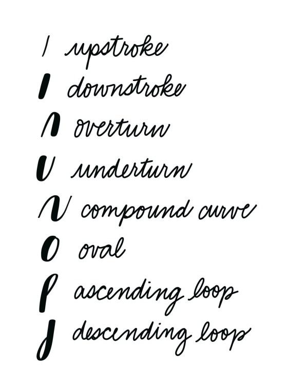 Hand Lettering: Basic Brush Strokes Practice
