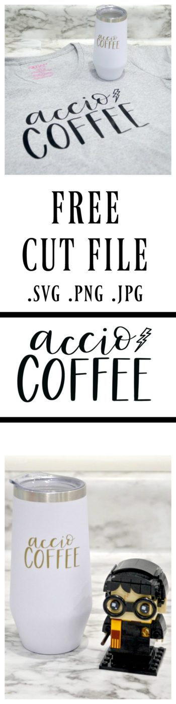 Accio Coffee Free Cut File