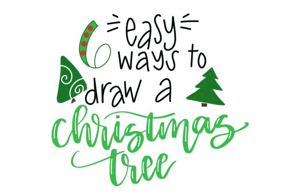 Draw a Christmas Tree: 6 Easy Ways