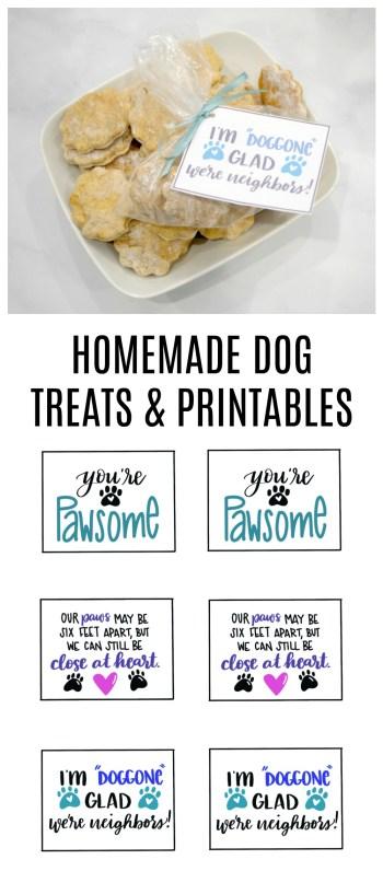 Homemade Dog Treats and Free Printables