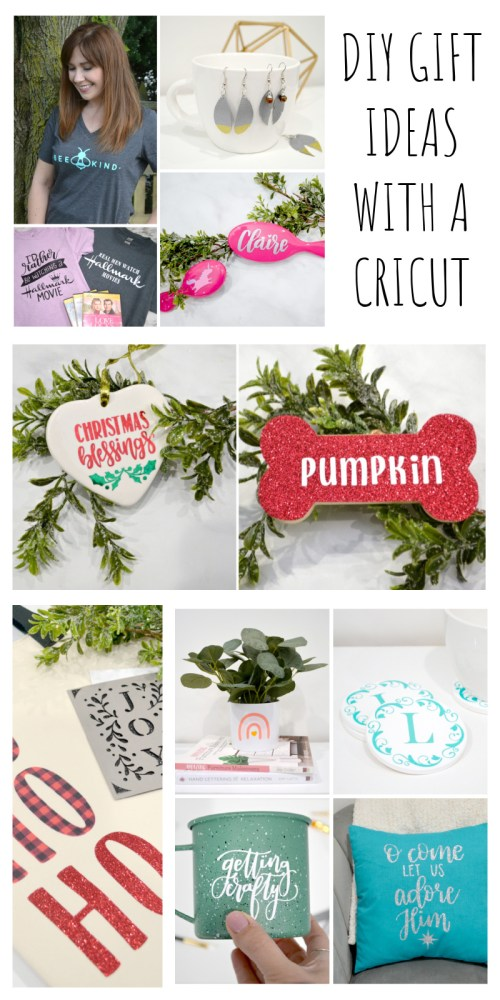 DIY Gift Ideas with a Cricut