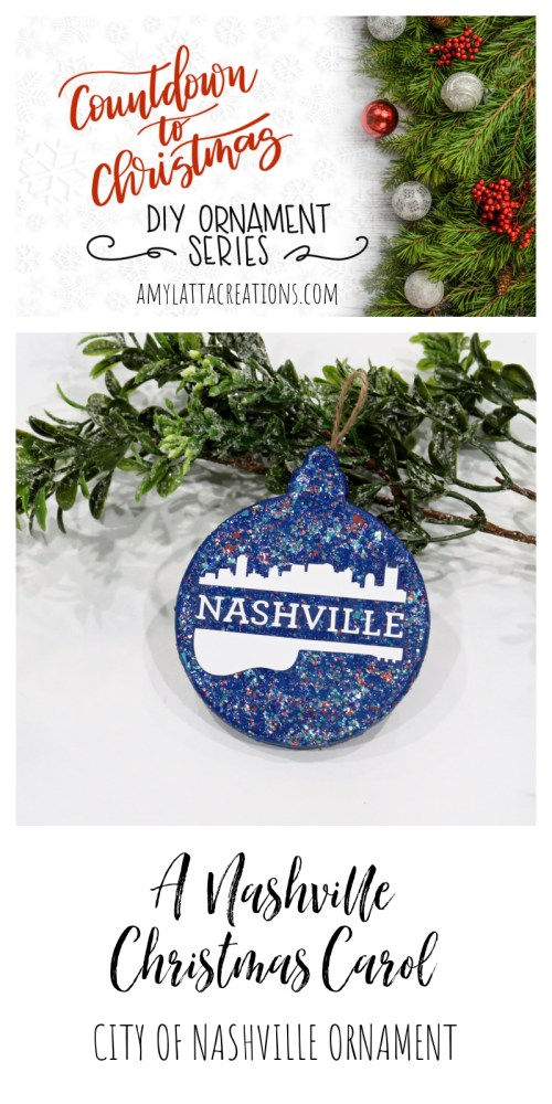 Nashville Christmas Ornament