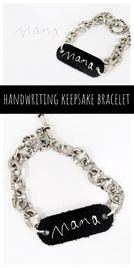 Handwriting Keepsake Bracelet
