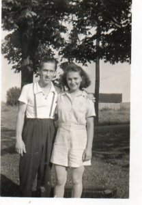 My grandparents as a young couple.